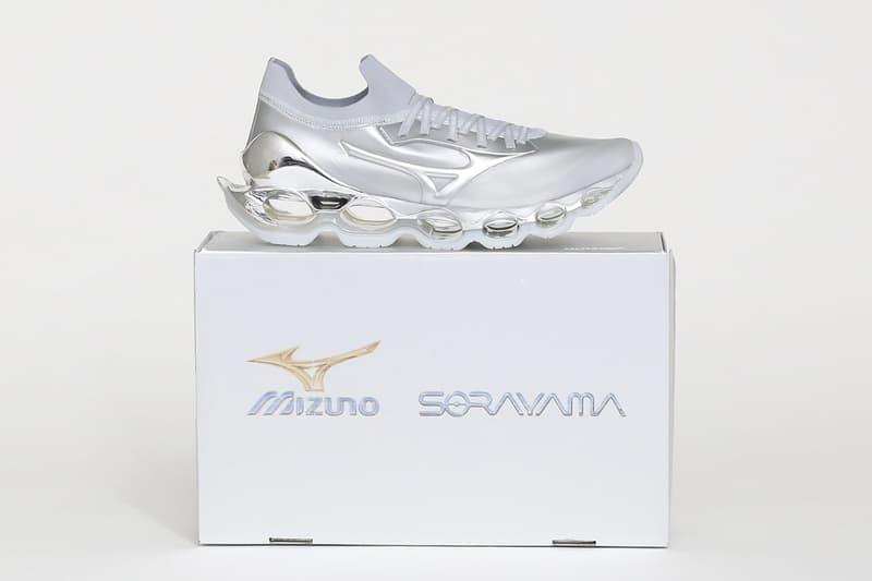 空山基 x Mizuno 最新聯名鞋款 WAVE PROPHECY SORAYAMA 正式登場