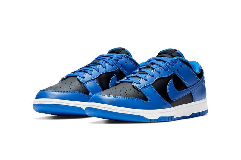 Nike Dunk Low 全新藍黑配色「Hyper Cobalt」官方圖輯釋出