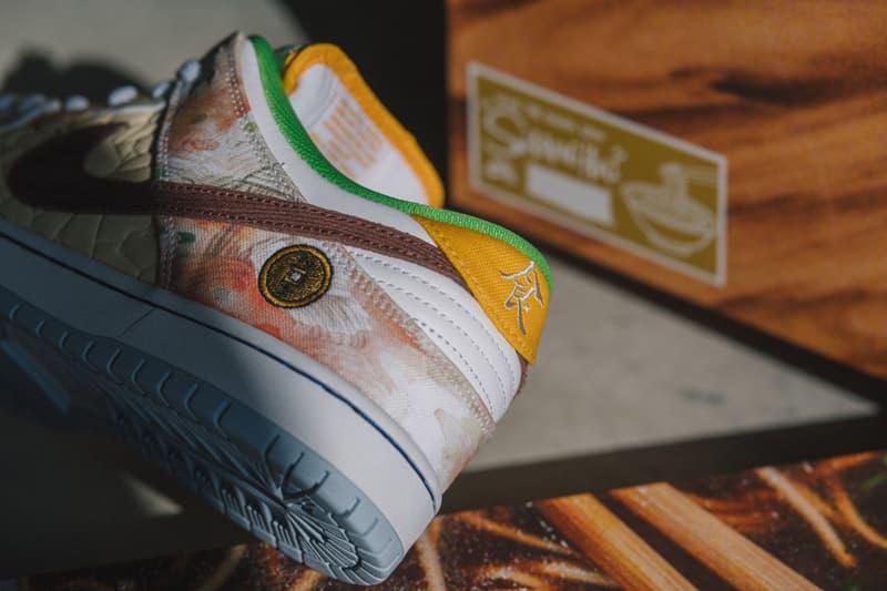 細節近賞 Nike SB Dunk Low 全新鴛鴦配色「Street Hawker」