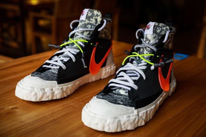 再次近賞 READYMADE x Nike Blazer Mid 最新聯名鞋款