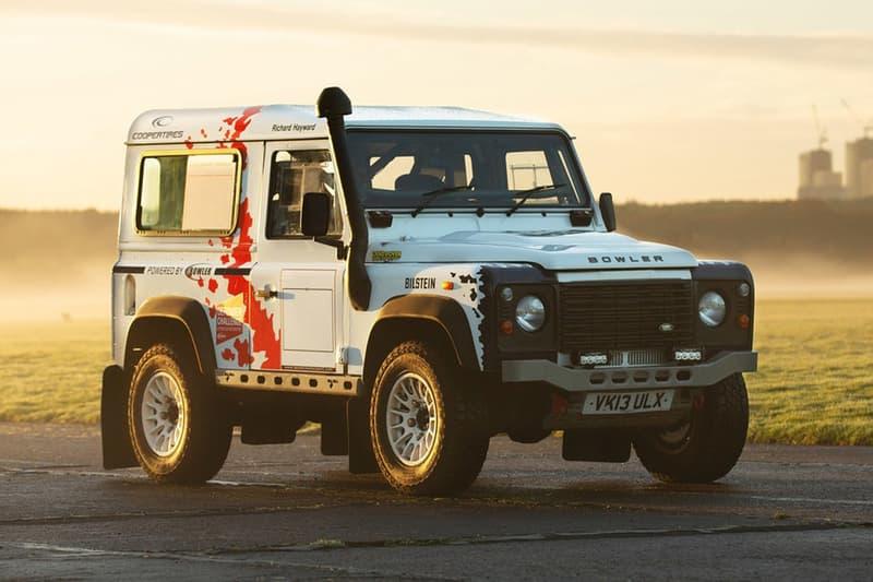 Drew Bowler 打造之 7 輛 Land Rover Defender 定製車款展開拍賣