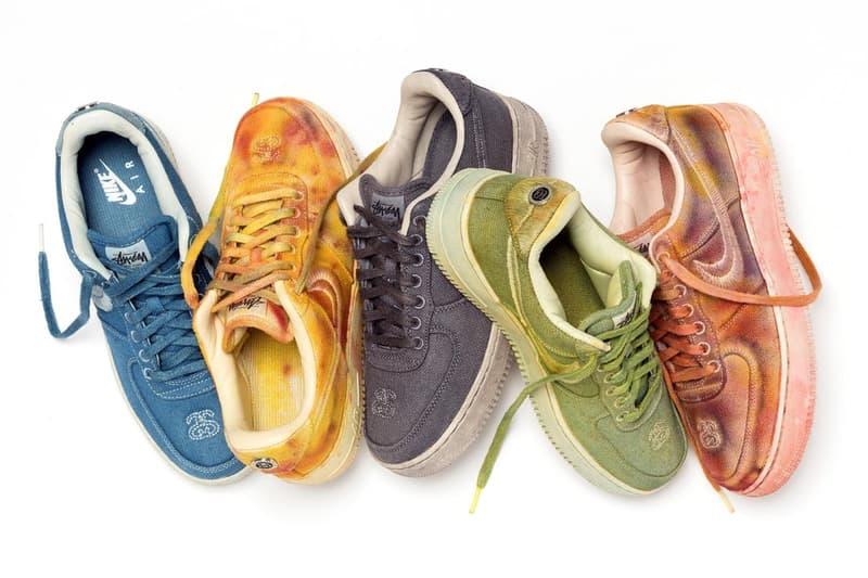 Stüssy x Nike 釋出全新聯乘系列特別版配色產品陣容