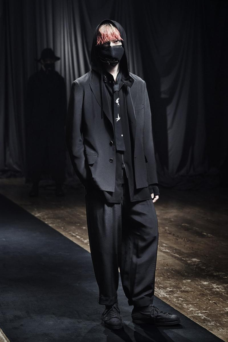 Yohji Yamamoto 2021 秋冬系列正式發佈
