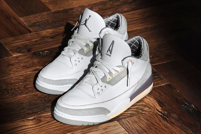 A Ma Maniére x Air Jordan 3 最新聯名鞋款率先曝光