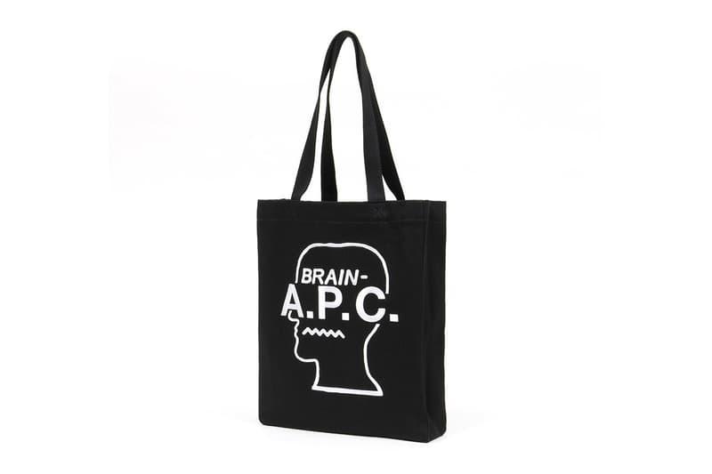 A.P.C. x Brain Dead 全新聯乘 Tote 袋發佈