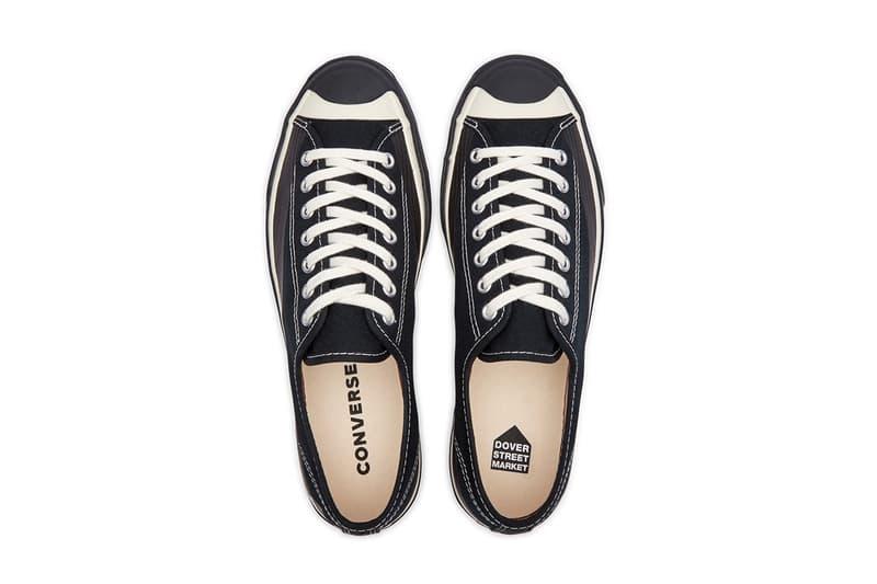 Dover Street Market x Converse Jack Purcell 全新聯乘系列鞋款發佈