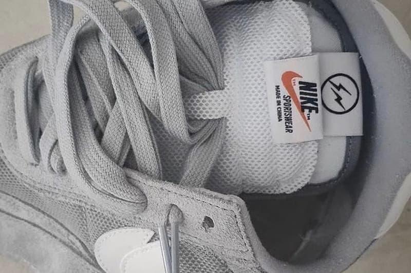 fragment design x sacai x Nike LDWaffle 最新三方聯名鞋款疑似曝光