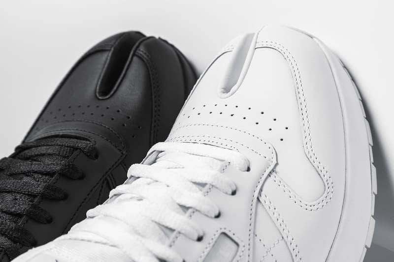 獨家近賞 Maison Margiela x Reebok 最新聯名鞋款 Classic Leather Tabi