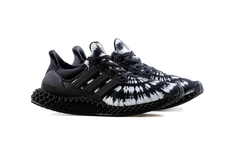 Nice Kicks x adidas Ultra4D 全新聯名黑白扎染鞋款正式登場