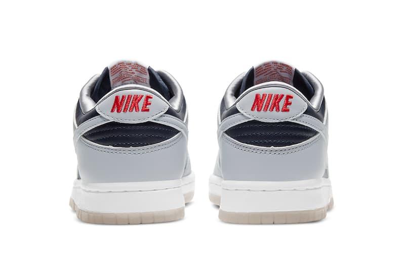Nike Dunk Low 全新配色「College Navy」官方圖輯、發售日期正式公開