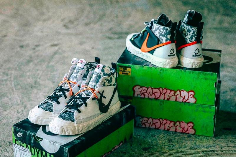 雙色登場!READYMADE 官方確認 Nike Blazer Mid 最新聯名鞋款發售日期