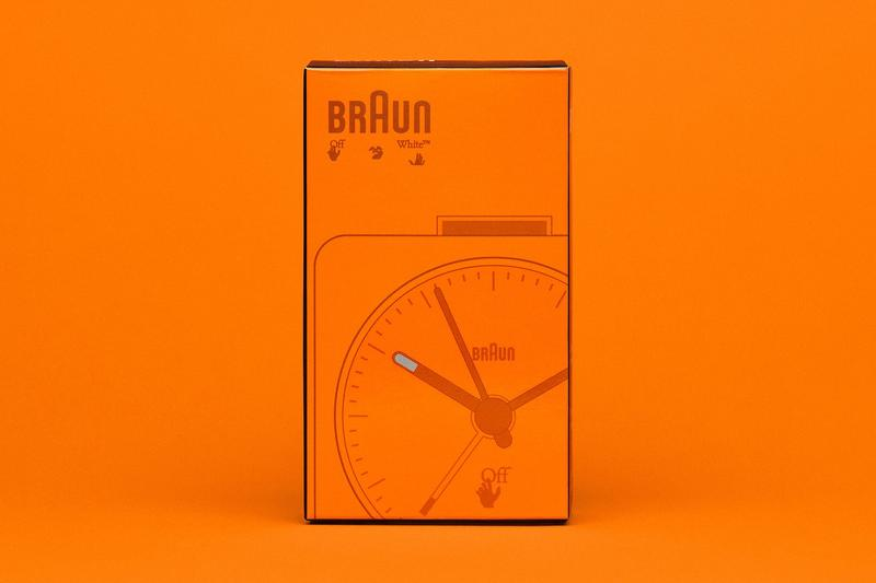 Virgil Abloh 打造 Off-White™ x Braun 最新聯名鬧鐘正式登場