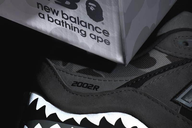BAPE x New Balance 2002R 最新聯名鞋款率先曝光