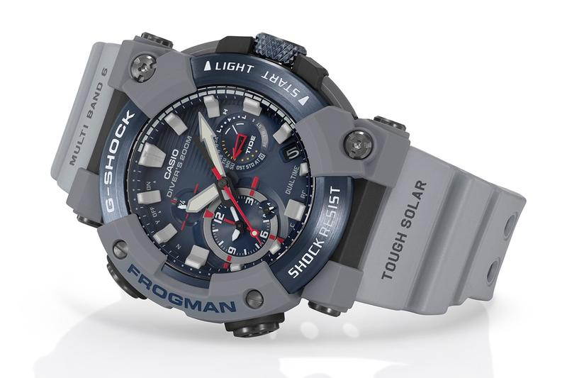 G-Shock 攜手英國皇家海軍打造 Frogman 別注腕錶