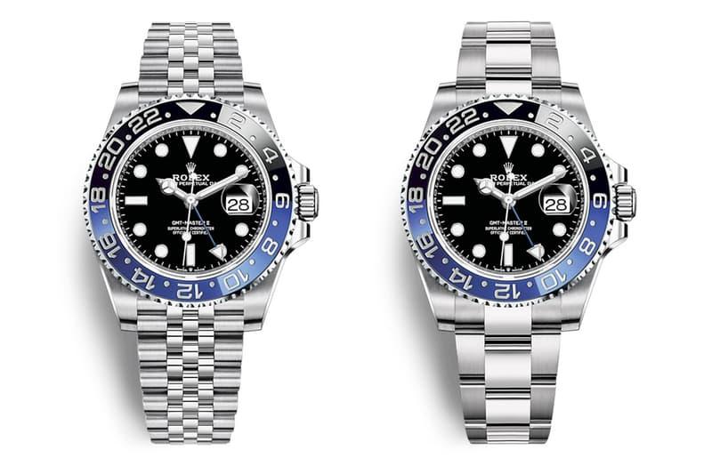 Rolex 推出 GMT-Master II「Batman、Pepsi」全新替代 Oyster 蠔式錶帶