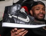 PJ Tucker 展示要價 $250,000 美元 Air Jordan 1 奢豪定製鞋款