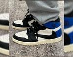 Travis Scott x fragment design x Air Jordan 1 High 三方聯名 Sample 鞋款意外曝光