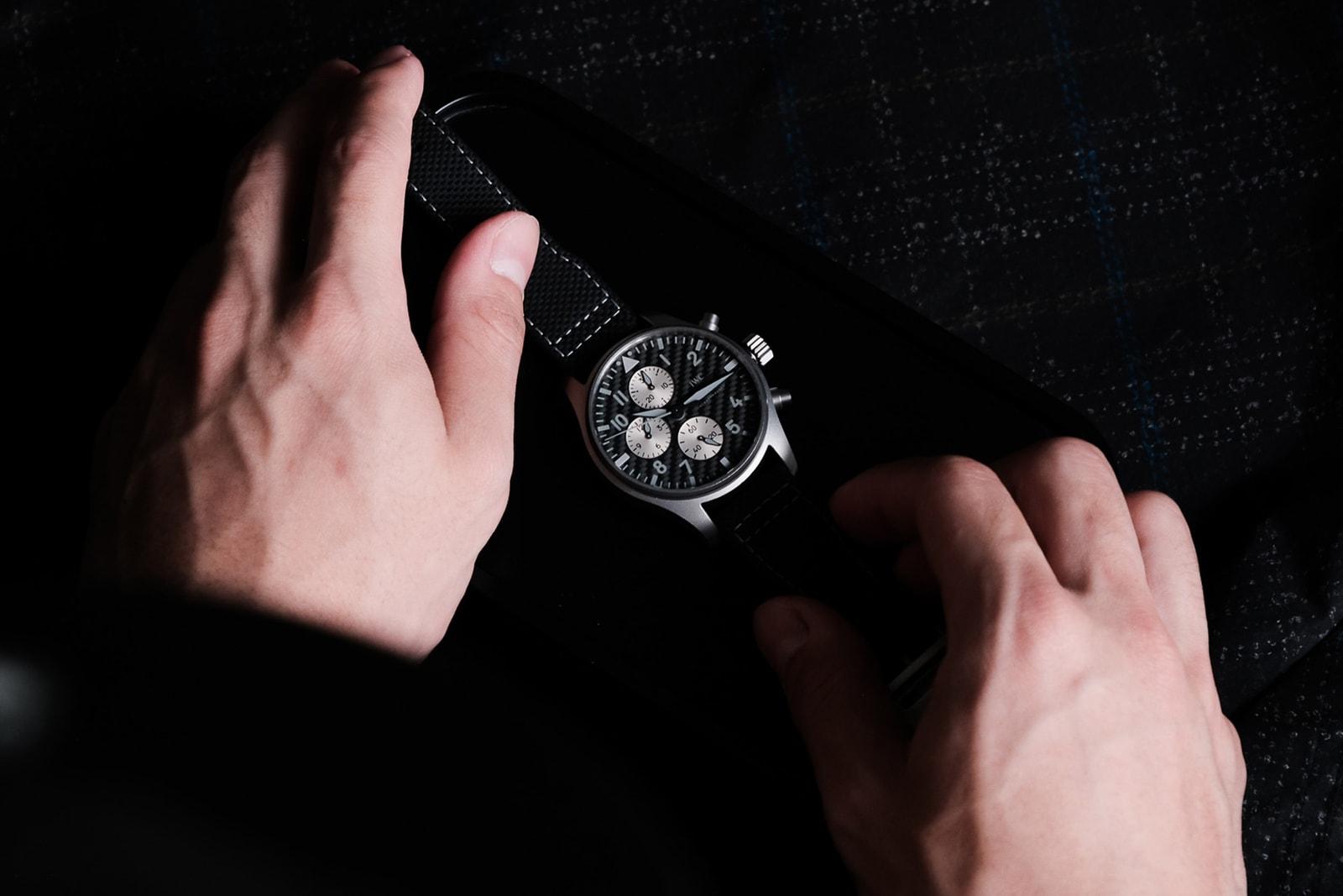 造車工藝移植 獨家開箱 IWC Pilot's Watch Chronograph Edition「AMG」聯名腕錶