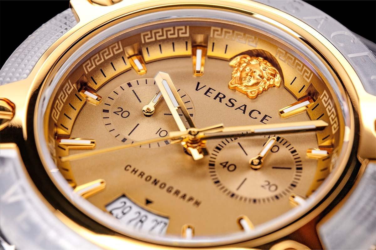 Versace 發表 2021 秋冬新款腕錶 Icon Active