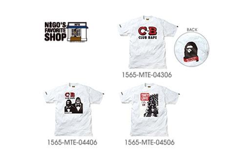 a9469281b7ba WTAPS x Nigo s Favorite Shop Tees
