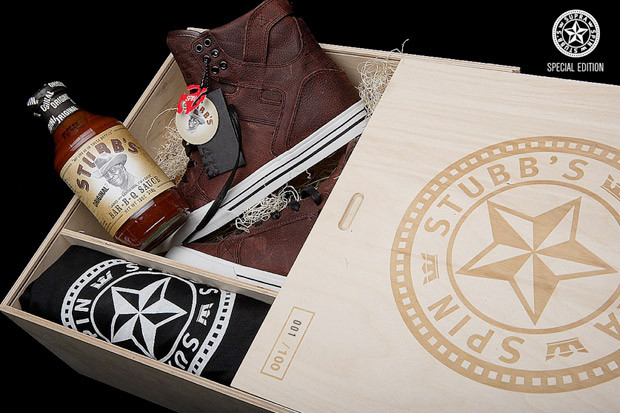 03833a896cde Stubb s x Supra Skytop Commemorative BBQ Pack