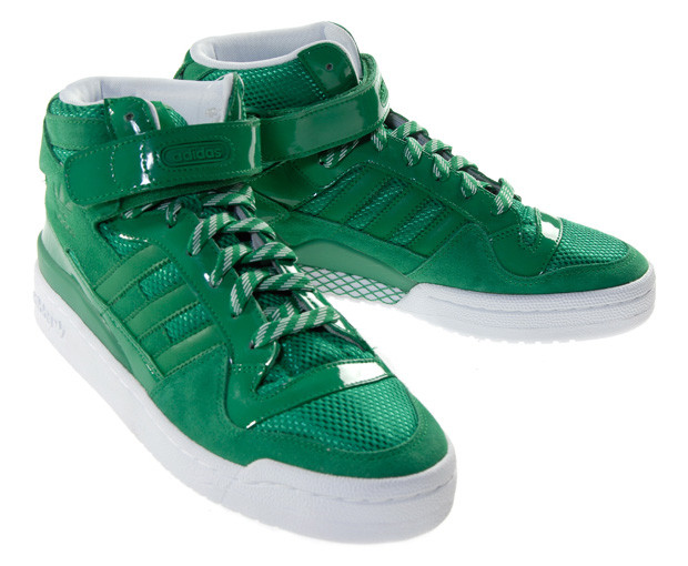 the latest c8921 807e8 ... adidas 30th Anniversary Top Ten Forum Mid Fairway Sneakers HYPEBEAST .  ...