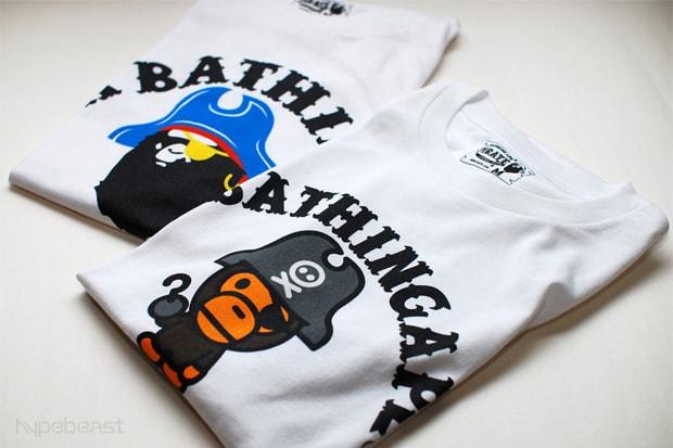 28f8a5a39234 A Bathing Ape Pirate Nagano Exclusive T-shirts