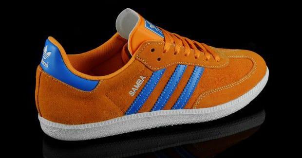 samba adidas orange