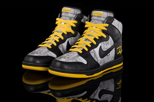 low priced 4c532 c681e LIVESTRONG x Futura x Nike Sportswear Dunk Hi