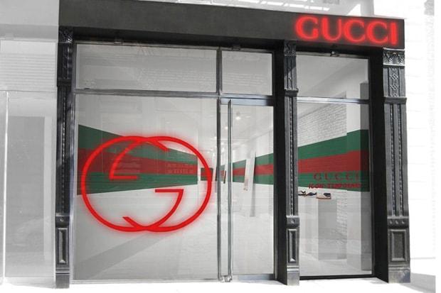 979f3e248ba Gucci Icon  Temporary Pop-Up Sneaker Stores