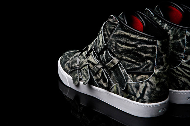 low priced ea9c8 6f466 Steve Aoki x Supra Wildlife Strapped Sneakers