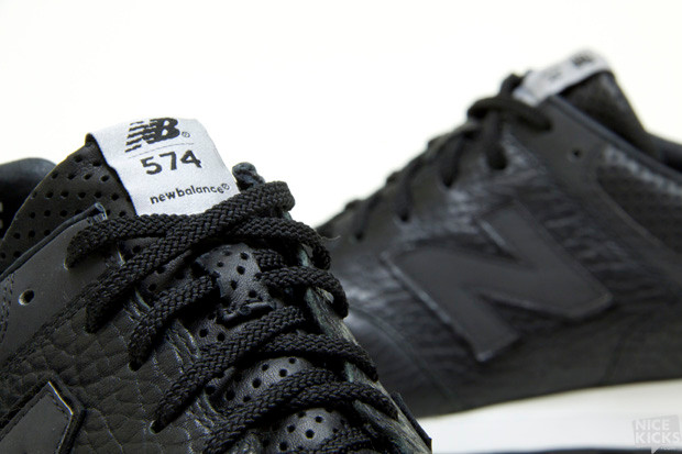 separation shoes 3aea5 a02ca New Balance Lux 574 Black/White | HYPEBEAST