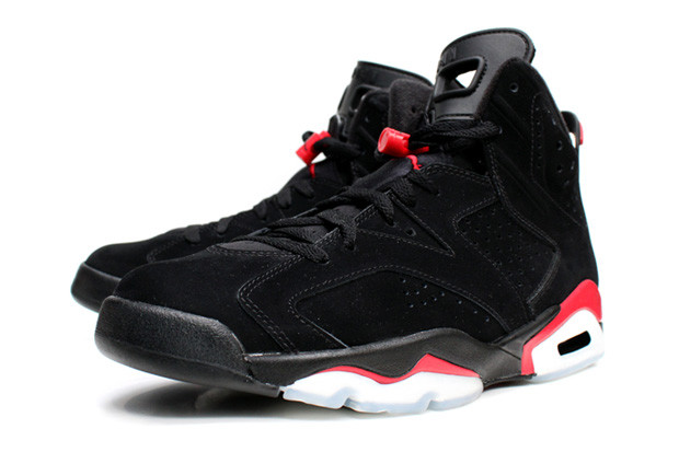 748a16a95e9839 Air Jordan Retro 6 Black Infrared · Uncategorized Footwear
