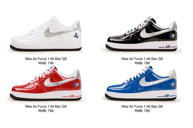photos officielles bc63a b6a4e Nike Air Force One 2010 NBA All-Star Collection | HYPEBEAST