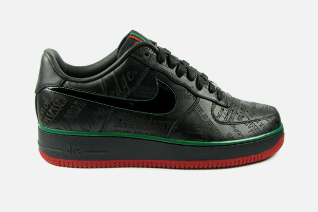 100% authentic 7fd62 da9ec Nike Sportswear 2010 Black History Month Air Force 1 | HYPEBEAST