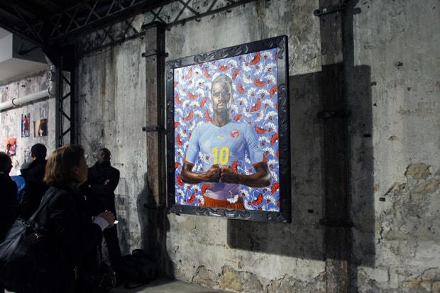 3889b9a9694f60 PUMA x Kehinde Wiley Paris Exhibition Recap | HYPEBEAST