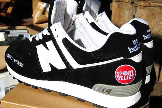 online retailer e3047 8e0cf Eddie Izzard x New Balance 576 Custom