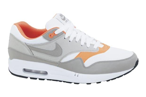 nike air max 1 grey and orange