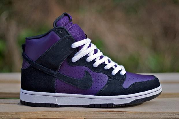 883d4b81cd68 Nike SB Dunk High Grand Purple Black