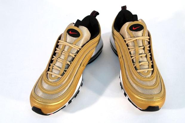 7ee230a405 Nike Air Max 97 LE Metallic Gold/Varsity Red-Black | HYPEBEAST