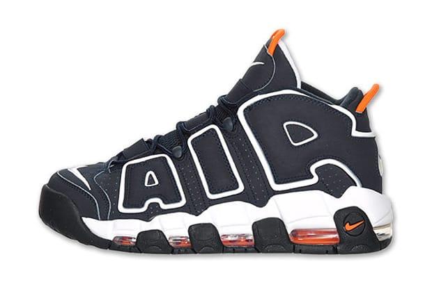 Nike Air More Uptempo Navy/Orange