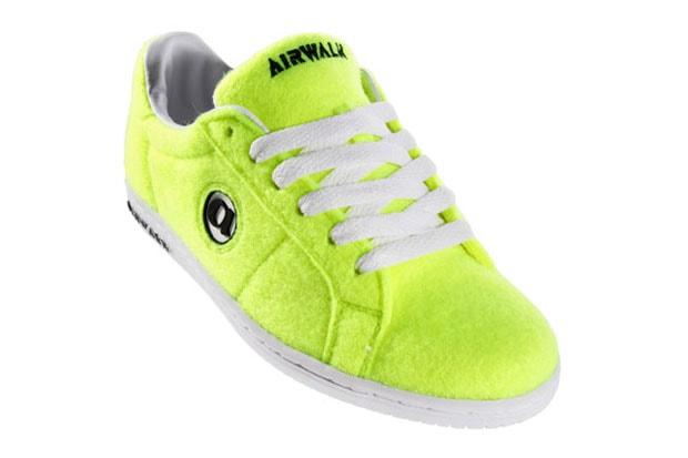 "Airwalk Jim ""Tennis Ball"" Sneakers d635cad3aa"