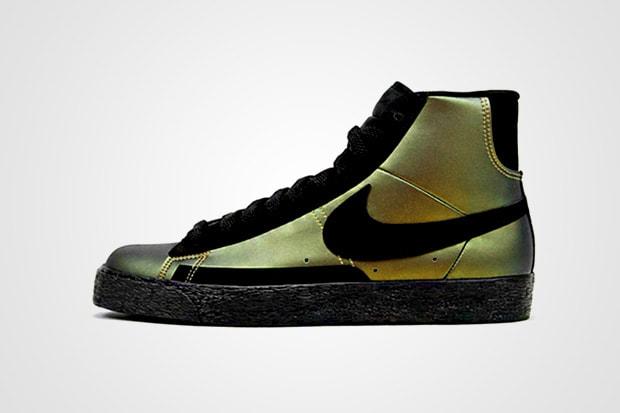 140d1258828 Nike Blazer Foamposite Metallic Gold