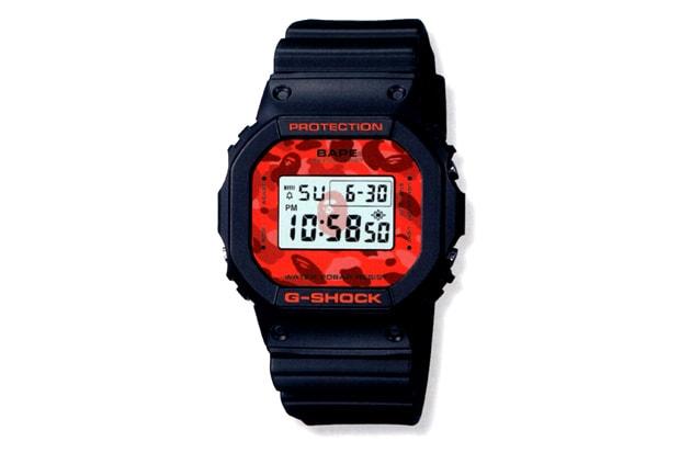 c9b04c603f61 A Bathing Ape x Casio G-Shock DW-5600