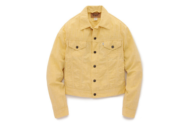 Opening Ceremony X Levi S Trucker Jacket Quot Yellow Chambray