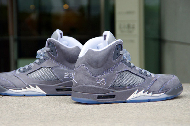 info for 8ea7d 3164d Air Jordan 5 Retro Wolf Grey