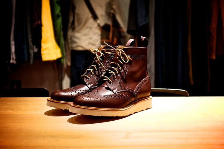 newest 4f780 057d4 ACL   Co. x Mark McNairy Brogue Boots