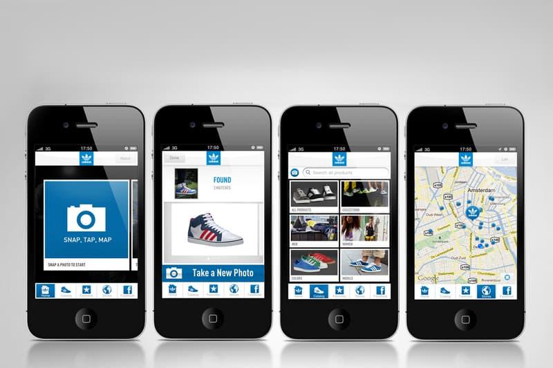 adidas Originals Launches iPhone App  745f83aad