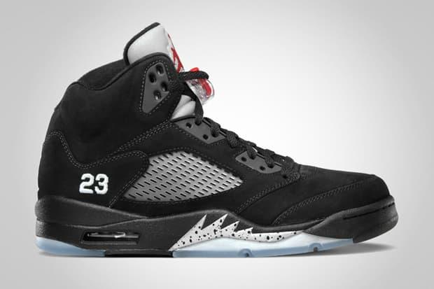 54565a5d364540 Air Jordan 5 Retro Black Varsity Red - Metallic Silver. Jordan Brand offers  an official look into this month s upcoming AJ V