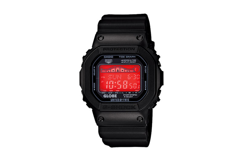 quality design 42fcc 8ced5 After previewing the G-Shock x Globe capsule collection back in August, a  closer look can be seen
